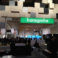 Photo taken at Hansgrohe @ ISH by Alexey7070 on 3/18/2013