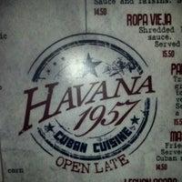 Photo taken at Havana 1957 Cuban Cuisine by Oscar G. on 6/23/2013
