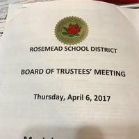 Photo taken at Rosemead School District by John Q. on 4/7/2017