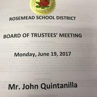 Photo taken at Rosemead School District by John Q. on 6/20/2017