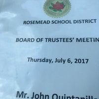 Photo taken at Rosemead School District by John Q. on 7/7/2017
