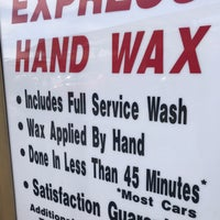 Photo taken at Mission Car Wash by John Q. on 1/14/2018