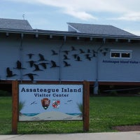 Photo taken at Assateague Visitor Center by Curtis T. on 7/6/2015