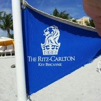 Photo taken at The Ritz-Carlton Key Biscayne, Miami by Matias A. on 4/18/2013