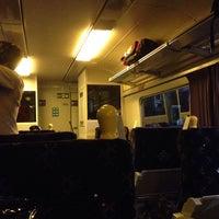 Photo taken at Caledonian Sleeper from Glasgow (GLC) to Euston (EUS) Train by Juan C. on 10/20/2013