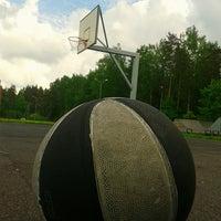 Photo taken at Jaunolaines sporta laukums by kristaps s. on 5/21/2013