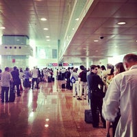 Photo taken at Barcelona–El Prat Airport (BCN) by Miguel G. on 7/8/2013