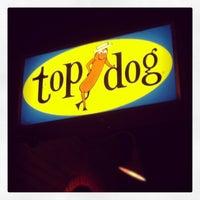 Photo taken at Top Dog by redeks on 2/7/2013