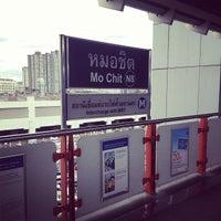 Photo taken at BTS Mo Chit (N8) by Panas S. on 7/9/2013