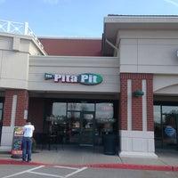 Photo taken at Pita Pit by Clinton M. on 4/2/2013