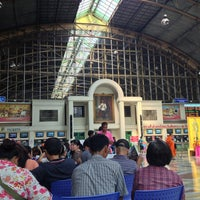 Photo taken at Bangkok Railway Station (SRT1001) by Beer B. on 2/12/2013