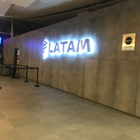 Photo taken at LATAM Priority Check-in by Andrea on 10/13/2017