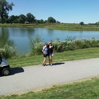 Photo taken at Crystal springs quarry golf course by Lexi P. on 9/14/2013