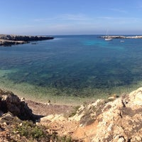 Photo taken at Cala Rotonda by Angelica P. on 9/28/2013