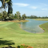 Photo taken at Mission Hills Phuket Golf Resort And Spa by Manoj T. on 2/19/2013