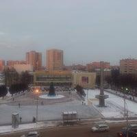Photo taken at Гостиница Подмосковье-Подольск by Даша Б. on 1/14/2014