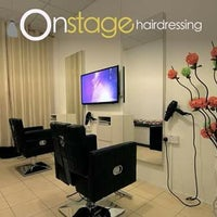 Photo taken at ONstage Hairdressing by Wee F. on 2/12/2016