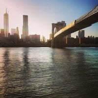Photo taken at East River by joshua t. on 5/5/2013