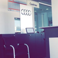Photo taken at Audi Service Center by Abdulaziz 1. on 1/22/2018