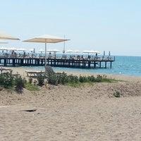Photo taken at Kadriye Beach Park by Ali G. on 8/22/2013