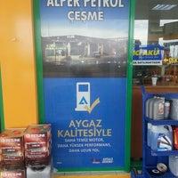 Photo taken at Alper Petrol by Sebahat K. on 1/10/2016