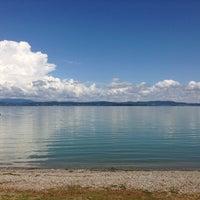 Photo taken at Lago Trasimeno by Елизавета К. on 6/3/2013