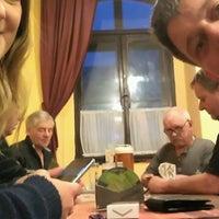 "Photo taken at Restaurace ""Na Radnici"" by dave r. on 10/28/2016"