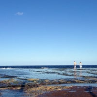 Photo taken at Mona Vale Beach by Michael L. on 4/1/2013