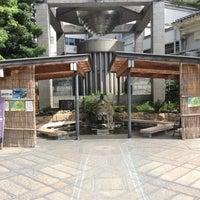 Photo taken at 山代温泉 源泉公園足湯 by 快速 新. on 8/19/2017