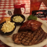 Photo taken at Bennett's Pit Bar-B-Que by Trucker4Harvick . on 12/31/2015