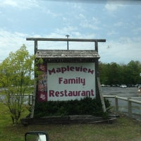 Photo taken at Mapleview Family Restaurant by Trucker4Harvick . on 5/15/2013