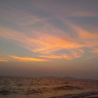 Photo taken at Dongtan Beach by Paul S. on 3/12/2013