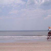 Photo taken at Atlantic Beach by Lisa W. on 5/10/2014