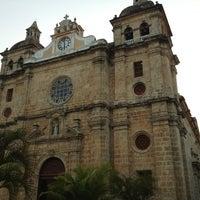 Photo taken at Plaza San Pedro Claver by Stella M. on 2/24/2013
