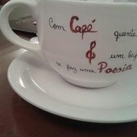 Photo taken at Café & Poesia - MAC by Célia R. on 6/30/2013