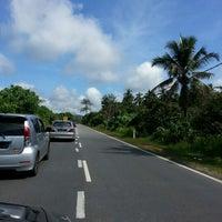 Photo taken at Kuala Kerai - Machang - Kota Bharu Main Road by Hamidah H. on 2/9/2013