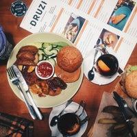 Снимок сделан в DRUZI cafe & bar пользователем alina t. 12/5/2015