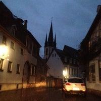 Photo taken at Altstadt Durlach by Gosha Chi on 12/28/2013