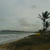 Photo taken at Praia de Pium by Robson F. on 2/23/2013