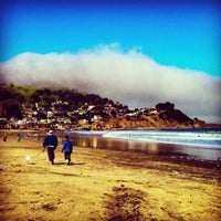 Photo taken at Pacifica State Beach by Edward H. on 4/17/2013