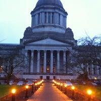 Photo taken at Washington State Capitol by Edward H. on 11/17/2012