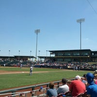 Photo taken at Werner Park by Joe N. on 7/14/2013