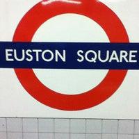 Photo taken at Euston Square London Underground Station by Paul on 10/28/2012