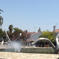 Photo taken at Parque La Paz by Restaurante plaza on 8/15/2013