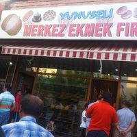Photo taken at YUNUSELİ MERKEZ EKMEK FIRINI by Onur A. on 6/28/2014
