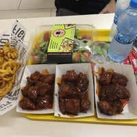 Photo taken at Buffalo Wings & Rings by Ehab A. on 6/24/2017