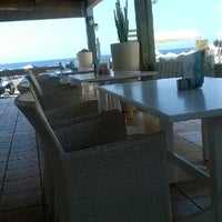 Photo taken at Captain Cafe Bar Restaurant by Ilias M. on 8/6/2014