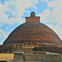 Photo taken at Jetavana Stupa by Kai S. on 7/30/2013