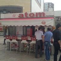 Photo taken at Atom Tost by Ertuğrul C. on 4/6/2013