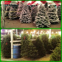 Photo taken at MK Christmas Tree Lot by Dio V. on 11/27/2012